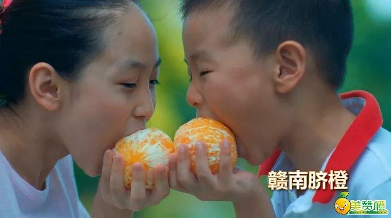 好吃的赣南脐橙